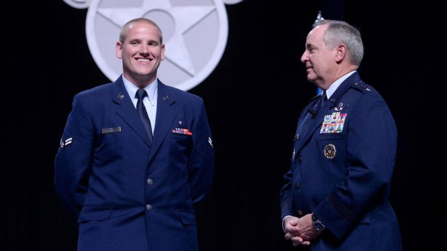 Train Hero Airman Spencer Stone to Receive Double Promotion, Purple Heart