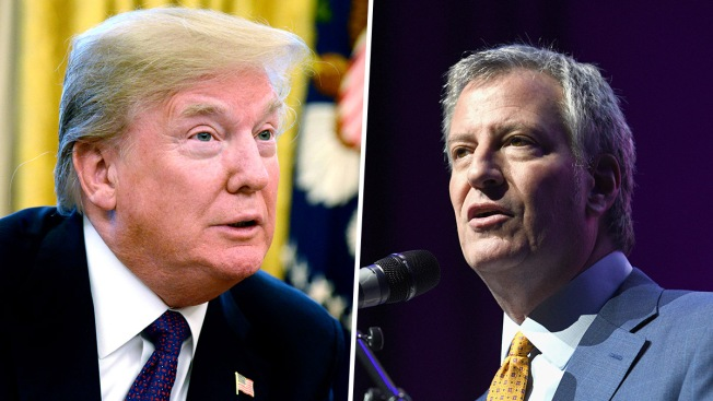 New York City Mayor Calls Donald Trump a Racist