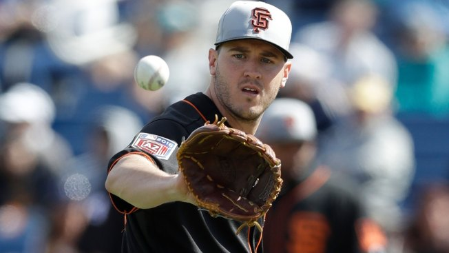 Giants Go With 'the Simplest Solution,' Name Ty Blach 2018 Opening Day Starter