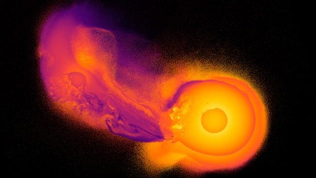A Big Space Crash Likely Made Uranus Lopsided