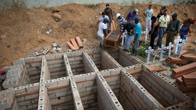 Venezuelan Jail Dead Buried in Mass Tomb as Questions Linger