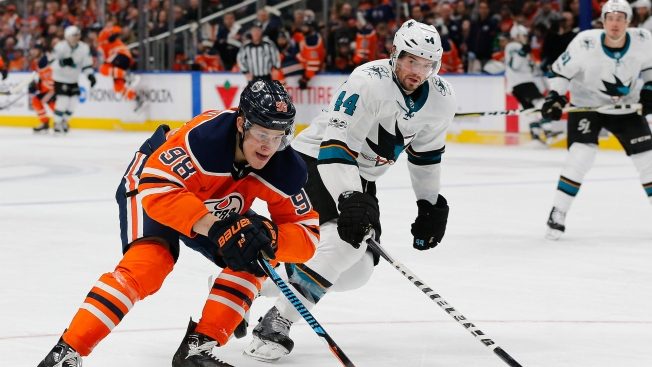 Puck Possession Problems Sink Sharks' Road Trip