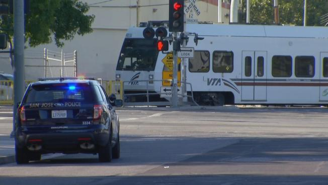 Bicyclist Struck, Killed by VTA Train in San Jose