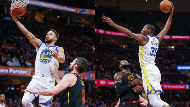 Warriors' Jordan Bell up and down in start vs. Cavaliers