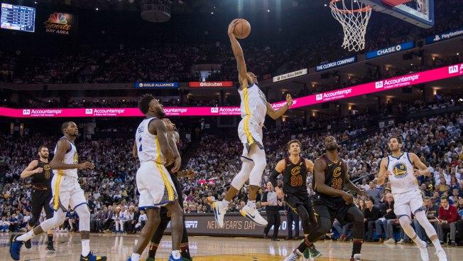 Warriors Turn It On In Second Half, Run Past Cavaliers