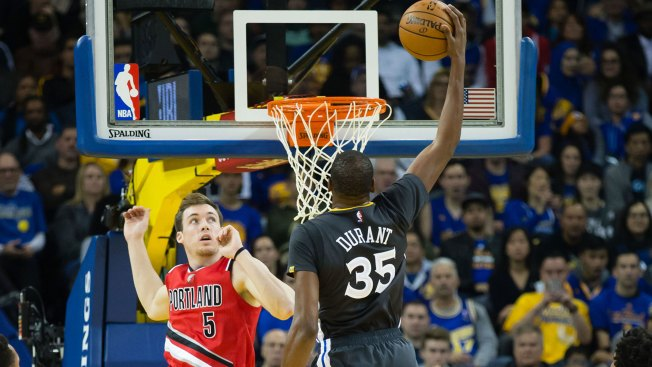 Instant Replay: Durant, Warriors Dominate Blazers With Offensive Onslaught