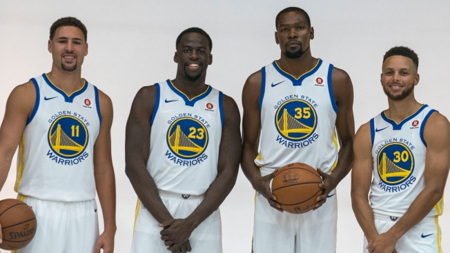 Poole's 2017-18 NBA Predictions: It's the Warriors ... and Everyone Else