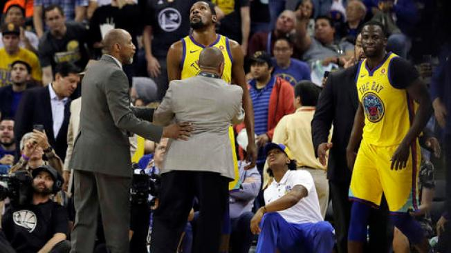 Durant Ejected in His Return, Warriors Fall to Bucks