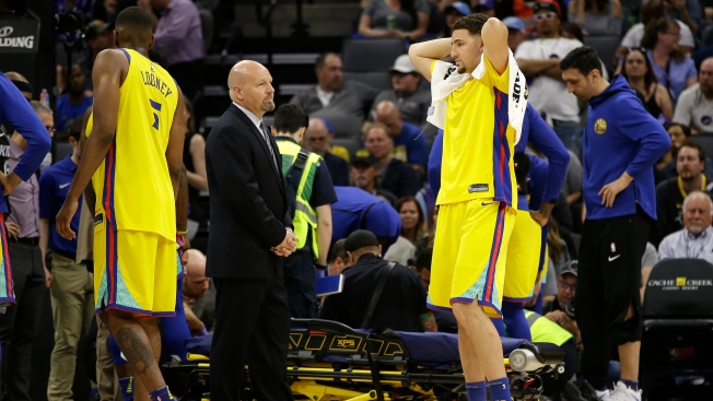 Patrick McCaw Injury Has Chilling Effect on Warriors' Locker Room