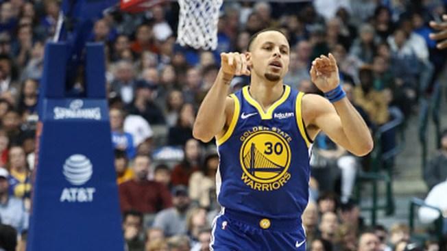 Curry Scores 48 as Warriors Get Past Mavericks