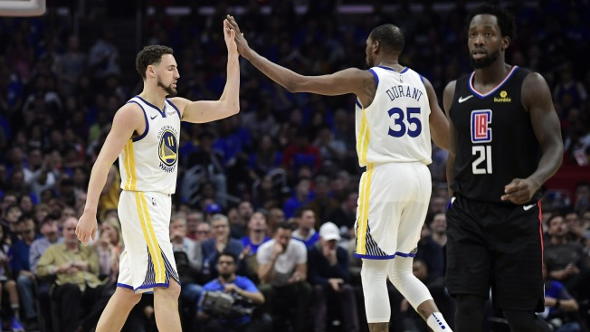 4760ed80331 Warriors Eliminate Clippers