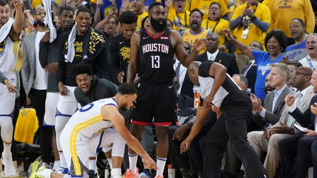 106fc8687c6 Warriors-Rockets Game 1 Officiating Draws Complaints Throughout NBA ...