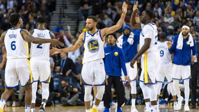 Warriors Start Slow, Pull Away From Nets For Sixth Straight Win