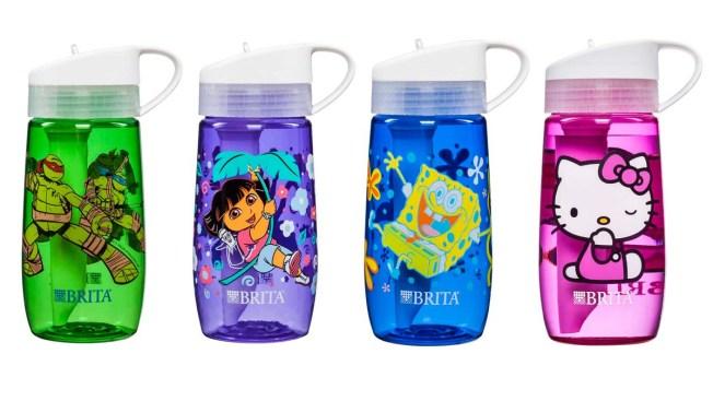 BRITA Recalls Children's Water Bottles Due to Laceration Hazard