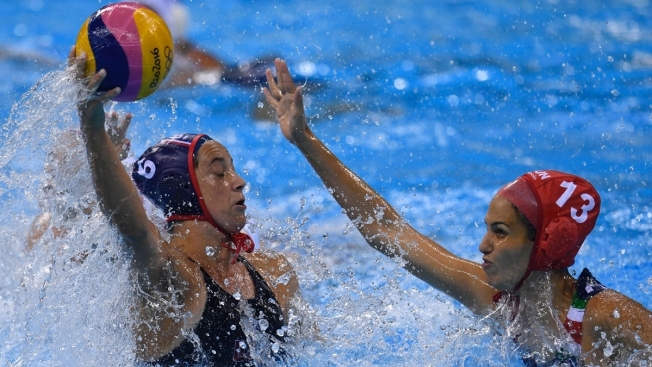 US Beats Italy 12-5 to Repeat as Olympic Water Polo Champs