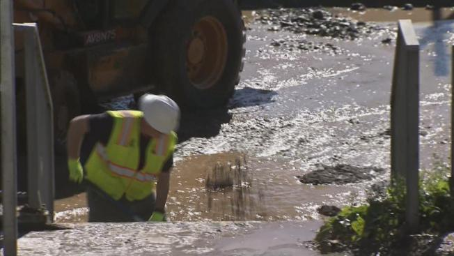 San Francisco Water Main Break Impacts Muni's J-Church Line