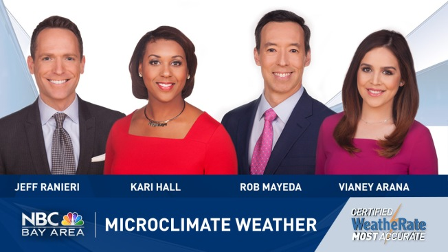 NBC Bay Area Microclimate Weather Earns Title of 'Certified