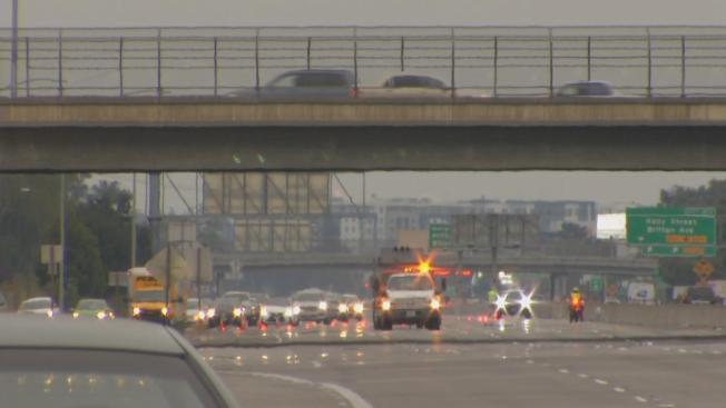 Officer-Involved Shooting with Knife-Wielding Pedestrian Closes Northbound Lanes of Highway 101