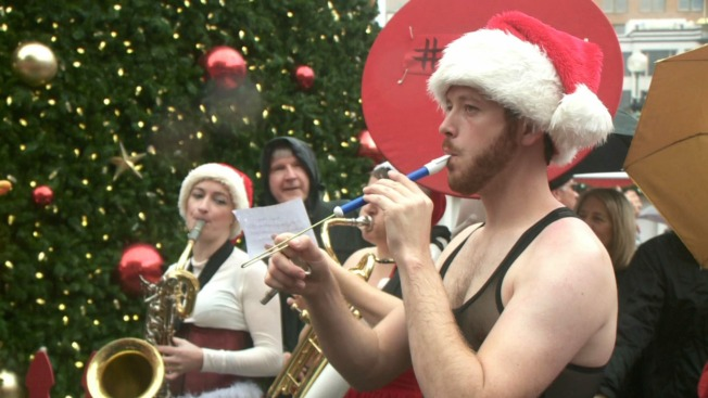 Holiday Enthusiasts Don Santa Garb, Celebrate SantaCon in San Francisco