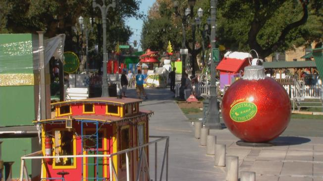 Volunteers Gearing Up for San Jose's 'Christmas in the Park'