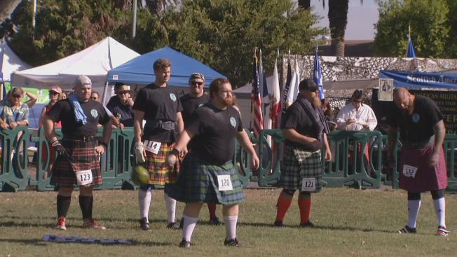 Scottish Highland Gathering and Games Delight Bay Area Crowd
