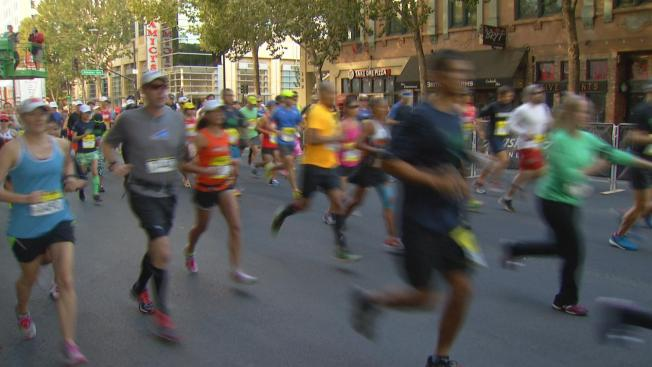 Streets Closed as Runners Race in San Jose Half-Marathon