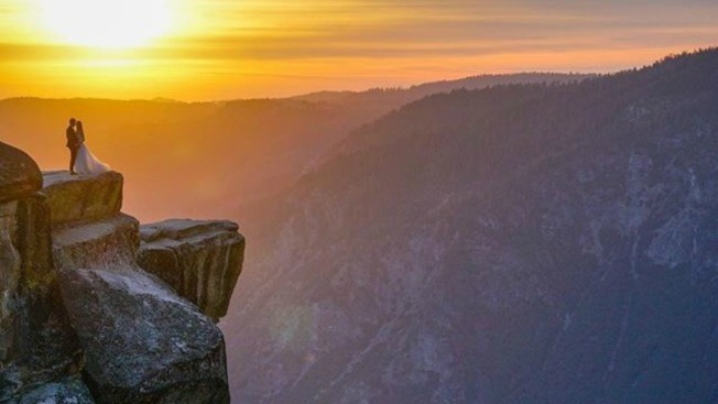 Mystery Couple Captured in Stunning Yosemite Sunset Photograph Identified