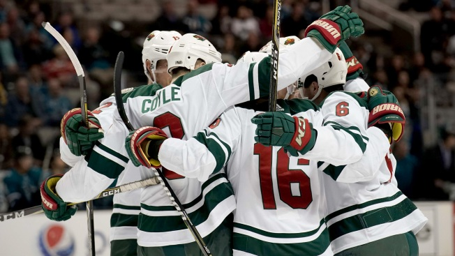 Nino Niederreiter earns Wild 2nd point with OT goal