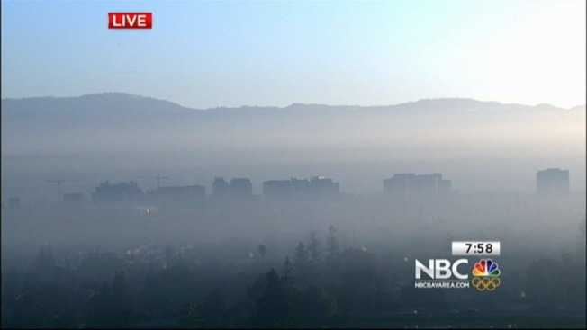 Winter Spare the Air Alert Continues in Bay Area Through Sunday, Wood-Burning Banned