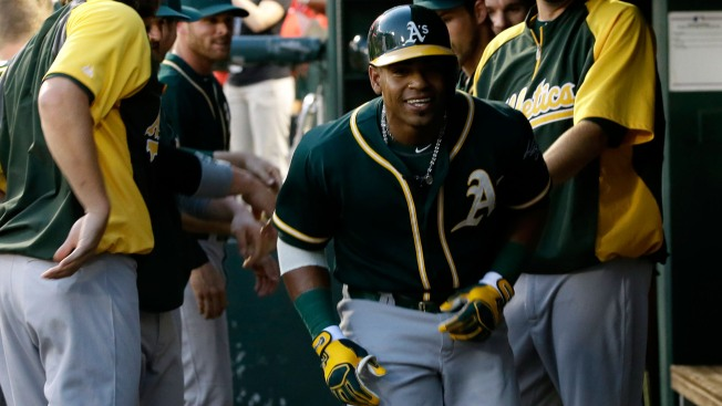 Yoenis Cespedes hopes to finish career with return to Athletics
