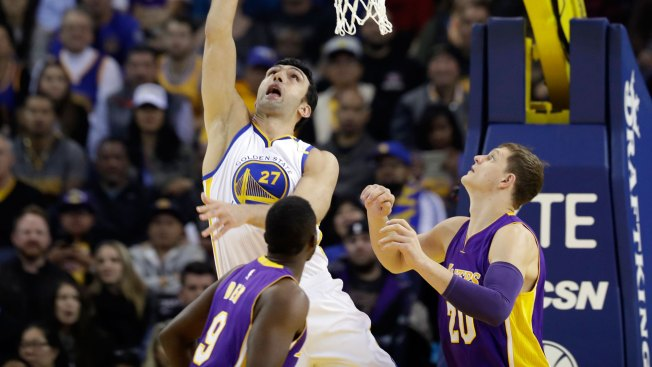 Warriors Set New Franchise Record Against Lakers