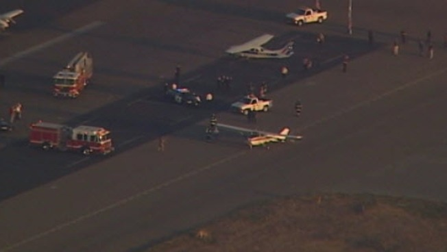 Planes Collide on Runway at San Jose Airport