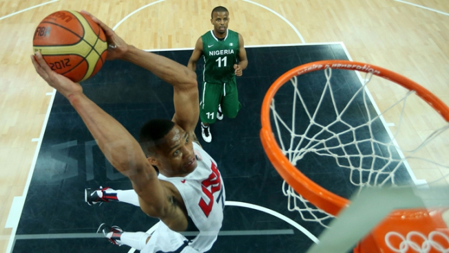 USA Men's Basketball Lights Up Three-Point Line in 156-73 Win Over Nigeria