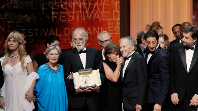 "Haneke's ""Amour"" Wins Top Prize at Cannes"