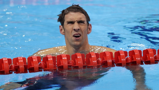 Phelps Proves Human After All