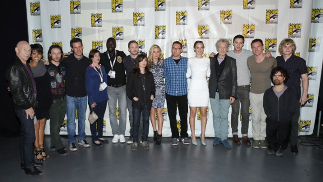 """X-Men"" Cast Members Unite at Comic-Con"