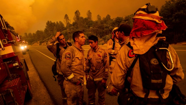10 States Send Relief Crews for Exhausted California Firefighters