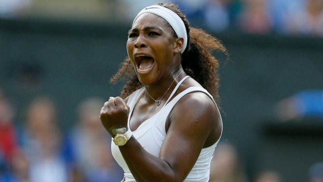 Serena Williams Battles Back to Beat Heather Watson at Wimbledon