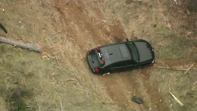 Unoccupied Car Found on Hillside Next to Grizzly Peak Boulevard