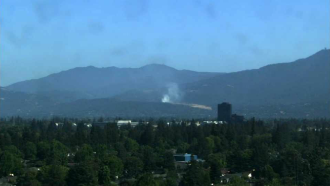 Firefighters Battle Blaze at Landfill in South San Jose