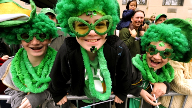 St. Patrick's Day Parade Draws Hundreds in San Francisco