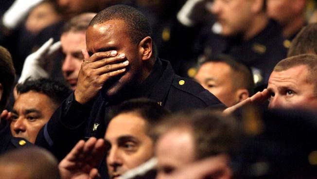 Thousands Bid Farewell to Slain Oakland Officers