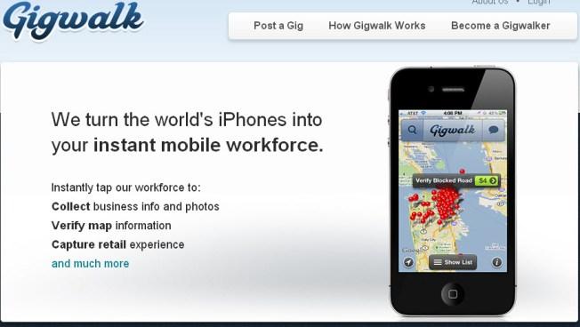 Let Gigwalk Find Your Next Job