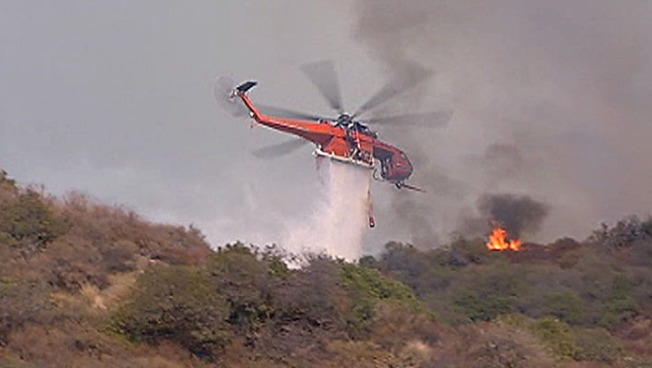California Officials Push to Recover Fire Costs
