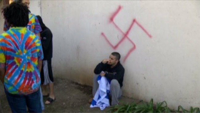 Swastikas Spray Painted at Off-Campus UC Davis Jewish Fraternity House