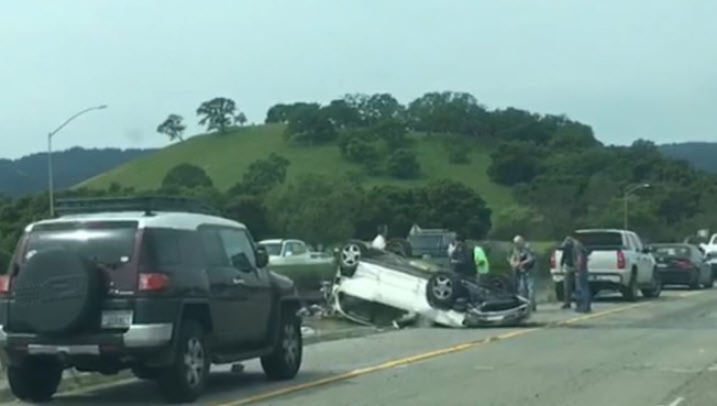 CHP Investigating Fatal Crash on Interstate 280 in Menlo Park