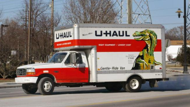 Woman Living in Stolen U-Haul Arrested: CHP