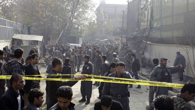 2 Dead, 60 Injured in Afghan Suicide Attack