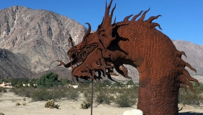 Desert Art: Borrego Springs Sculptures
