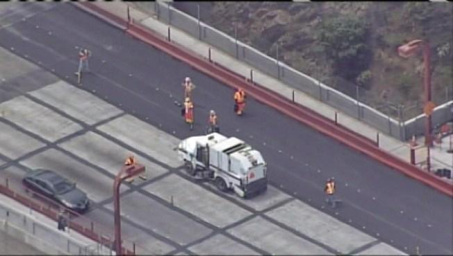Golden Gate Bridge Repaving Project Fails, Shuts Down Lanes